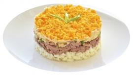 Салат Яично - сырный