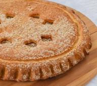 Пирог с картофелем и грибами, 1кг.