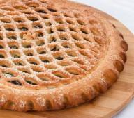 Пирог с черносливом и грец. орехом, 1кг.
