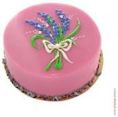 Торт Лавандовый с базиликом