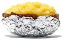 Клубень курица с сыром
