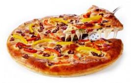 Пицца Закрытая курица с брокколи, 1 кусок