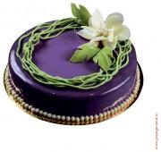 Торт Йогуртовый с черникой