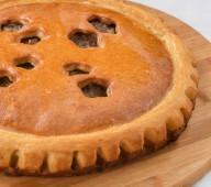 Пирог с мясом и картофлем, 1кг.