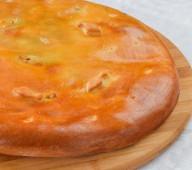 Пирог осетинский с треской и шпинатом, 900 гр.