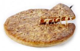 Пицца Закрытая колбаски с пеперони, 1 кусок