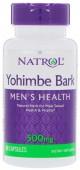 Natrol Yohimbe Bark 500 mg