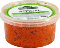 Морковь по-корейски, 300 гр.