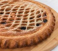 Пирог с вишней и шоколадом, 1кг.