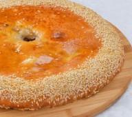 Осетинский пирог с грибами и сыром, 900 гр.