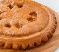 Пирог с курицей и капустой, 1 кг.