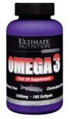 Омега 3 ULTIMATE NUTRITION