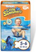 Подгузники-трусики Huggies для плавания Little Swimmers