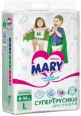 Трусики-подгузники Mary Детские, 44 шт, 8-14 кг.
