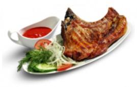 Чалагач из свинины и овощами
